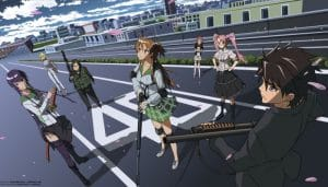 Highschool of the Dead BD Subtitle Indonesia Batch